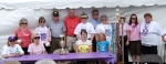 Some team members of the Class of 68 Relay for Life.